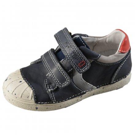 Chlapčenská kožená prechodná obuv-Royal Blue