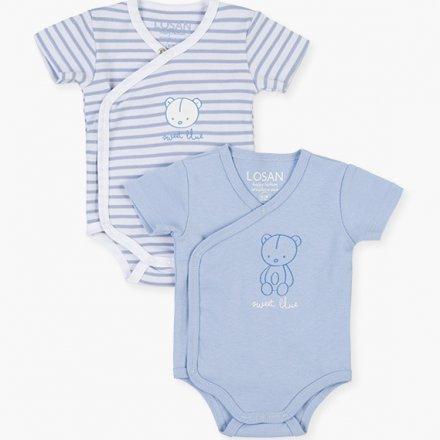 Novorodenecké body pre chlapcov-2 ks v balení