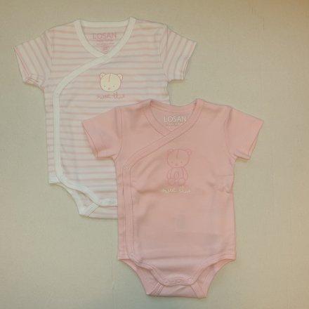 Novorodenecké body pre dievčatá-2 ks v balení