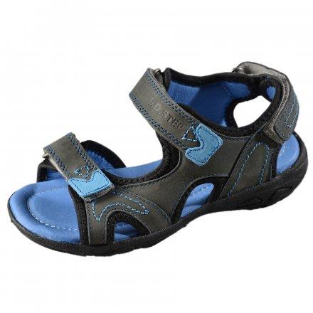 b6e6661d4ecb Chlapčenské kožené sandále-Grey
