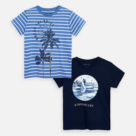 Chlapčenské tričko s krátkym rukávom-2 ks v balení