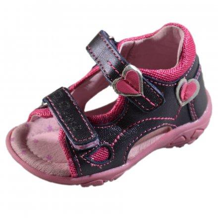 Dievčenské kožené sandále-Royal Blue