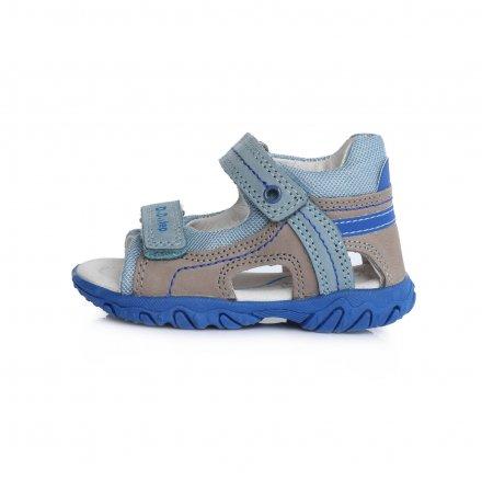 Chlapčenské kožené sandále-