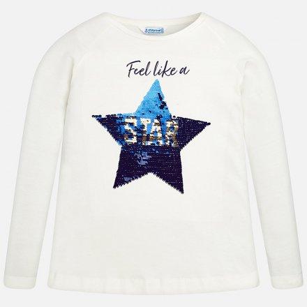 Dievčenské tričko s meniacimi flitrami