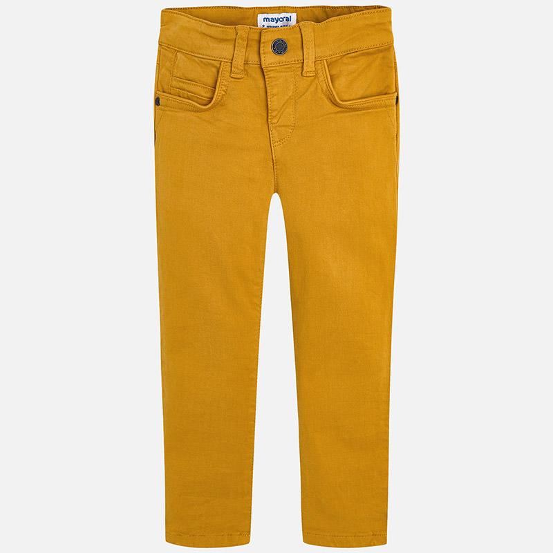 5a5355fe6369 Chlapčenské Slim Fit nohavice s nastaviteľným pásom Mayoral - 00517 ...