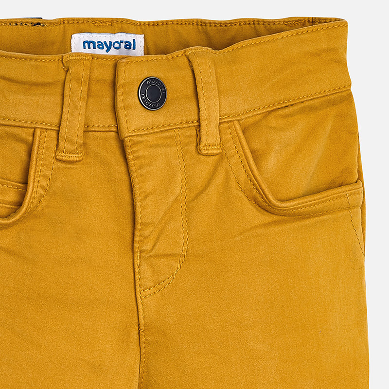 3e23fdc48e43 Chlapčenské Slim Fit nohavice s nastaviteľným pásom Chlapčenské Slim Fit  nohavice s nastaviteľným pásom