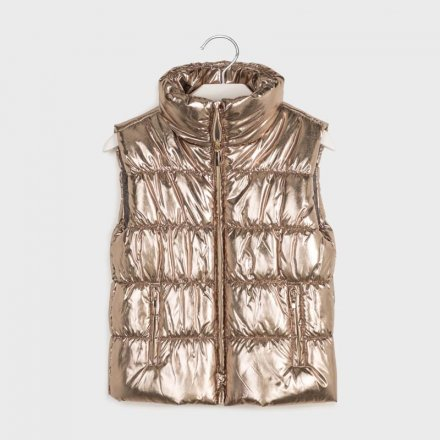 Dievčenská metalická vesta