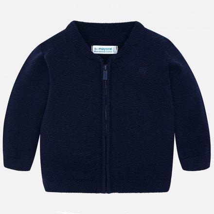 Chlapčenský  pletený svetrík na zips