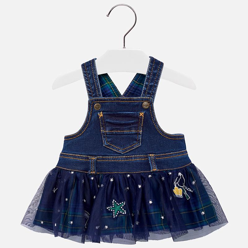 cf8a15e20599 Dievčenské riflové šaty s tylovou sukňou Mayoral - 02906-032 ...
