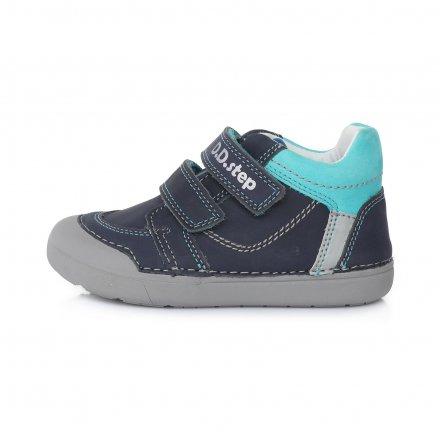 Chlapčenské kožené prechodné topánky-Bermuda Blue