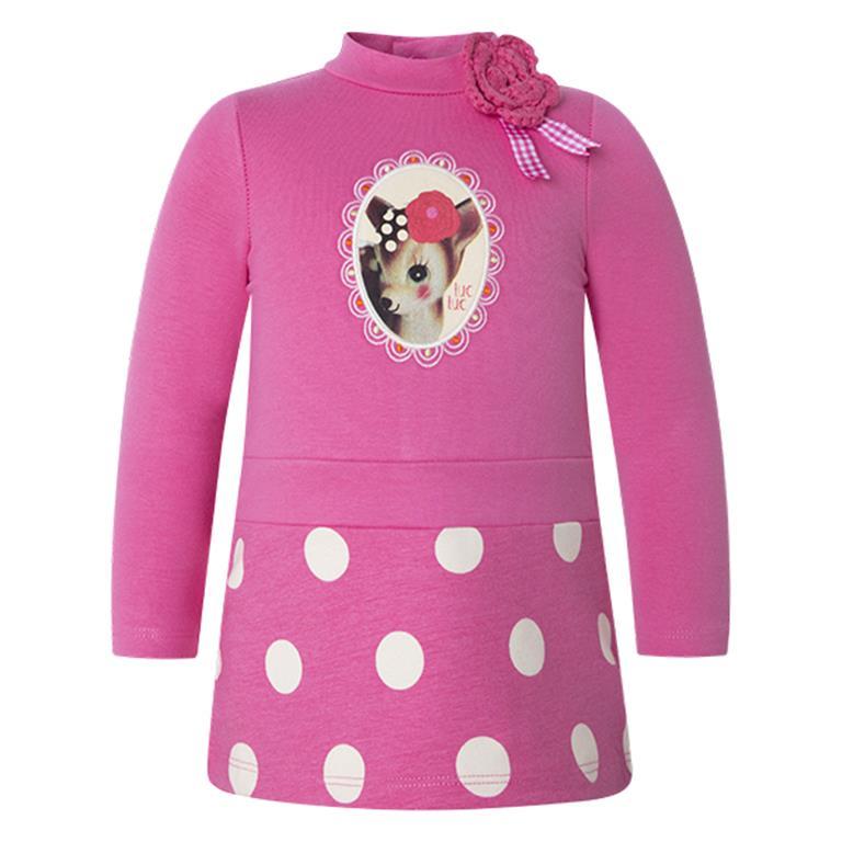 7928dd54373d Dievčenské šaty s dlhým rukávom TUCTUC - 39336-UNICO