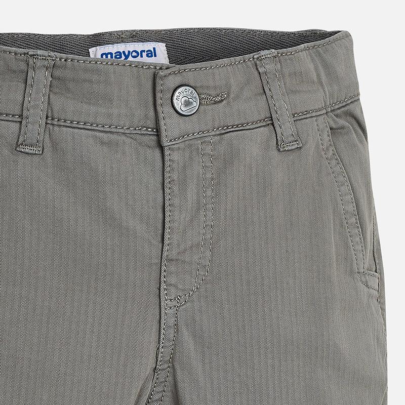 dc16aa858f91 Chlapčenské podšité nohavice s nastaviteľným pásom Chlapčenské podšité  nohavice s nastaviteľným pásom