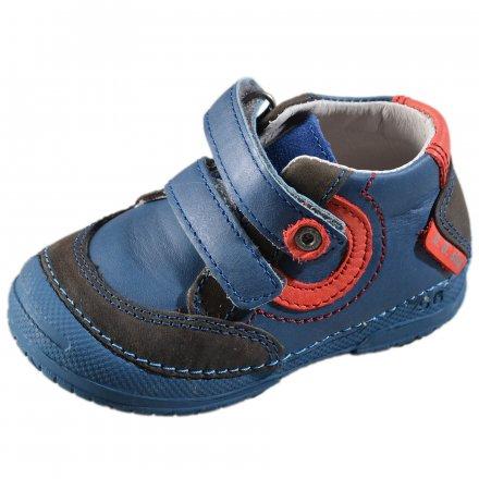 Chlapčenské prechodné kožené topánky-Sky Blue