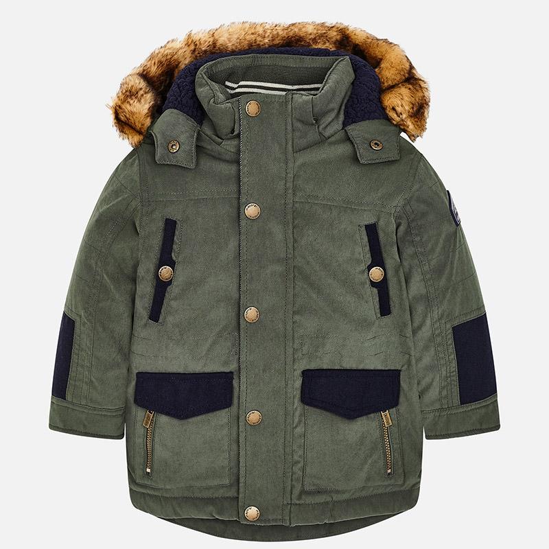 9148d5b68 Chlapčenská zimná bunda s kapucňou Mayoral - 04416-033 | Lollipopkids.sk