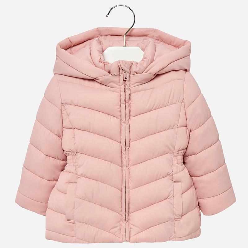 Dievčenská zimná bunda s kapucňou Mayoral - 00414-037  e8c92241977