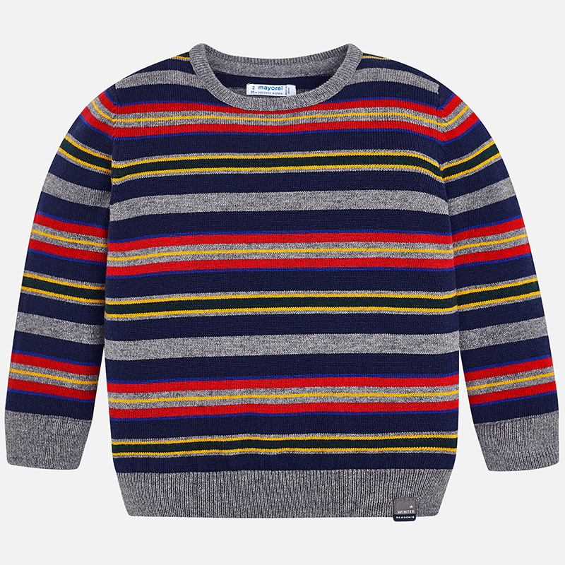 31b1c7ec95f Chlapčenský pletený pulóver Mayoral - 04314-052