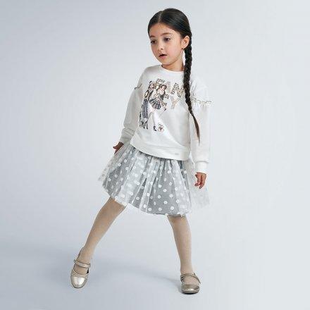 Dievčenská súprava mikina a tylová sukňa