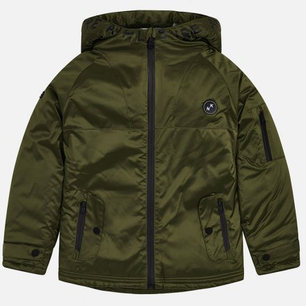 Chlapčenská zimná bunda s kapucňou