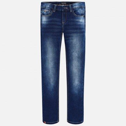 Chlpačenské riflové nohavice