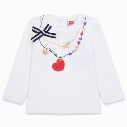 Dievčenské tričko s dlhým rukávom  s potlačou