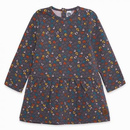 Dievčenské šaty s dlhým rukávom