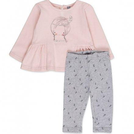 Dievčenská súprava tričko a legíny