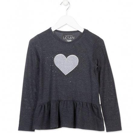 Dievčenský pletený pulóver
