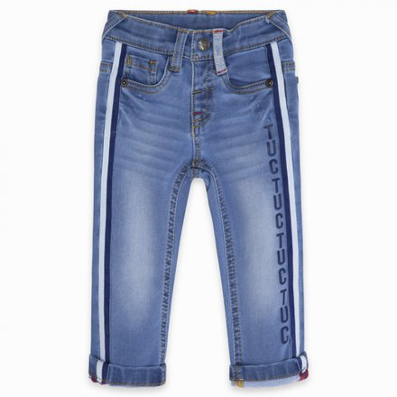 Chlapčenské riflové nohavice s nastaviteľným pásom