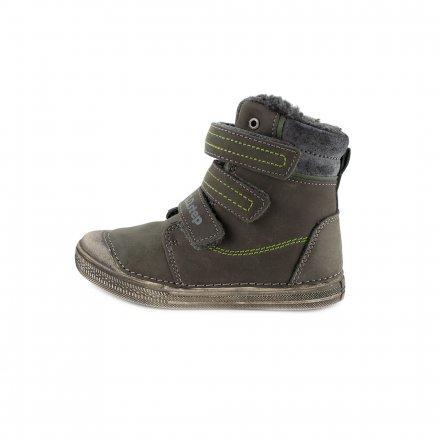 Chlapčenské zimné topánky zateplené s kožušinkou- Dark Grey