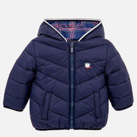 Chlapčenská  prešívaná zimná bunda s kapucňou