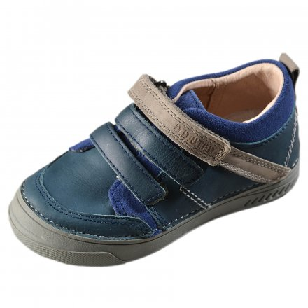 Chlapčenské prechodné  kožené topánky-Bermuda Blue