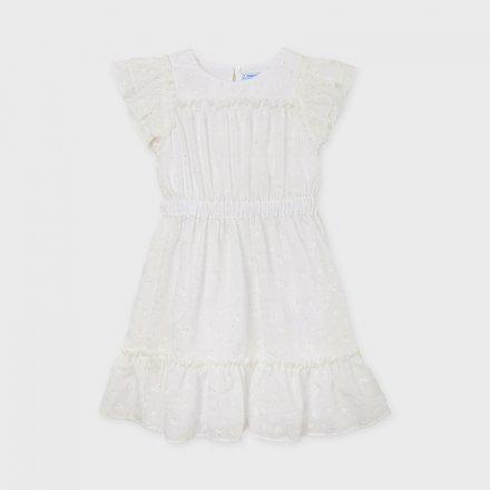 Dievčenské šifónové šaty