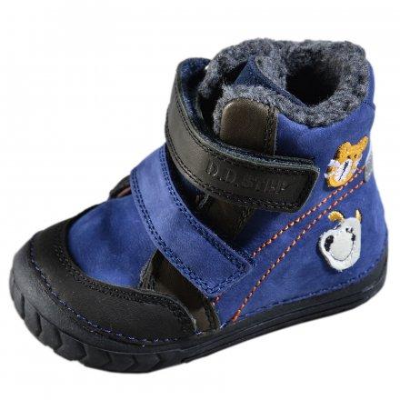 Chlapčenské zimné topánky zateplené s kožušinkou-Bermuda Blie