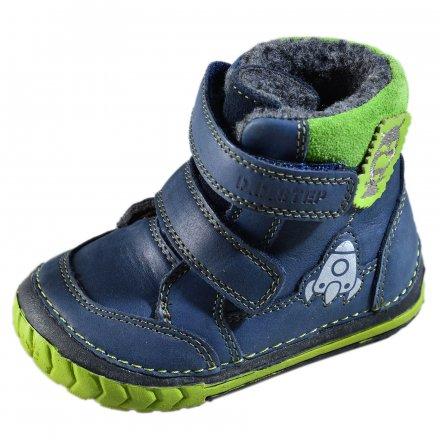 Chlapčenské zimné topánky zateplené s kožušinkou-Sky Blue