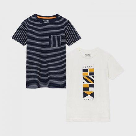Set tričiek pre chlapcov s krátkym rukávom