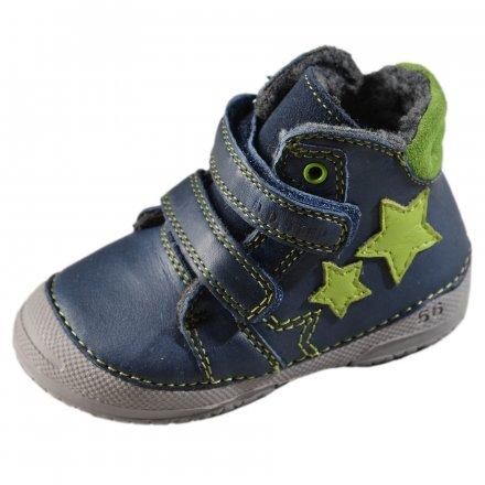 Chlapčenské zimné topánky zateplené s kožušinkou-Royal Blue