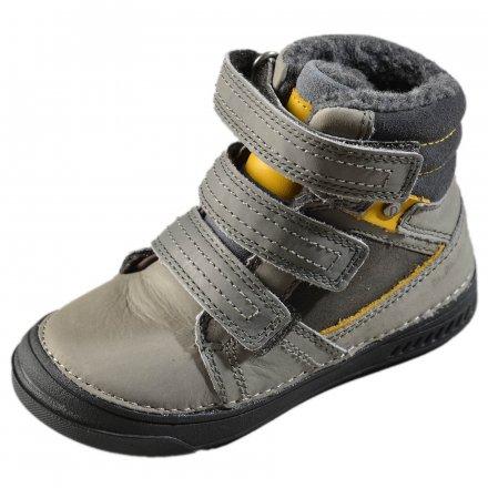 Chlapčenské zimné topánky zateplené s kožušinkou-Grey