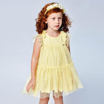 Dievčenské tylové šaty