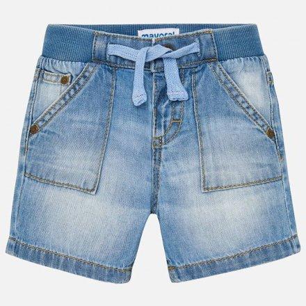 Chlapčenské krátke nohavice s nastaviteľným pásom