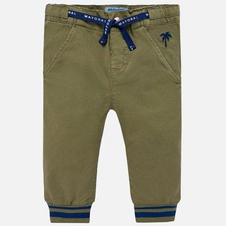 Chlapčenské jogger nohavice s nastaviteľným pásom