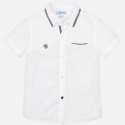 Košeľa s krátkym rukávom a s klasickým golierom