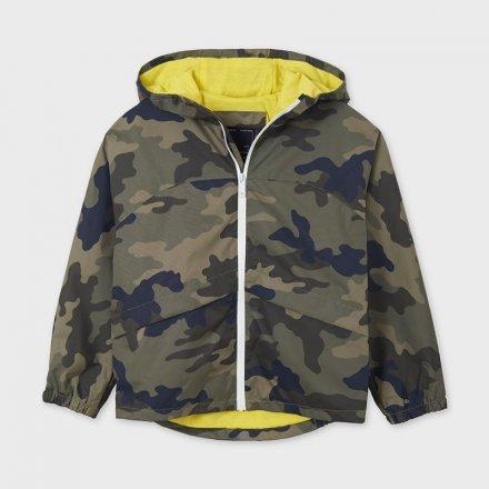 Chlapčenská vetrovka s kapucňou na zips
