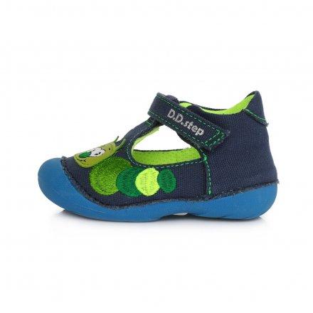 Chlapčenské  otvorené plátenky obuv-Royal Blue