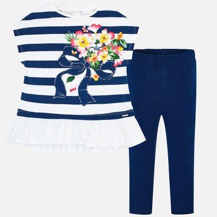 Dievčenský letná súprava tričko a legíny