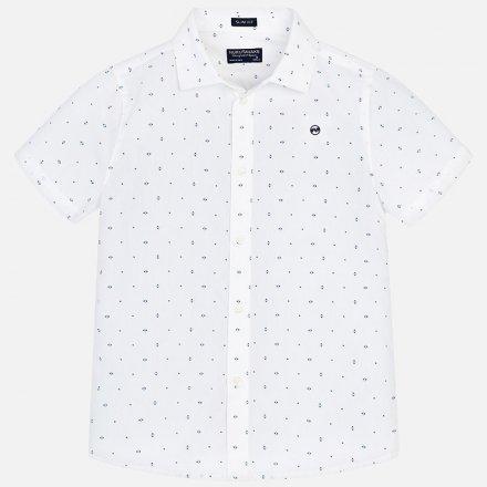 Košeľa z bavlny s krátkym rukávom a s klasickým golierom