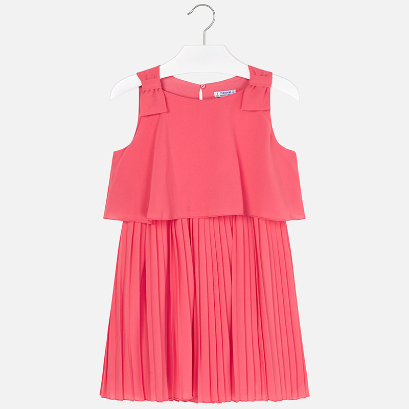 e63ba5185e6d Elegantné letné šaty s plysovanou sukňou Mayoral - 06930-080 ...