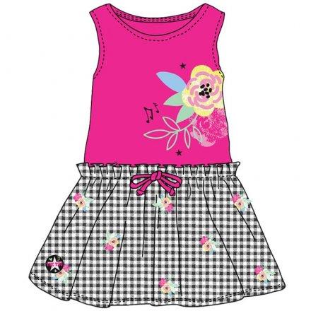 Dievčenské letné šaty bez rukávov