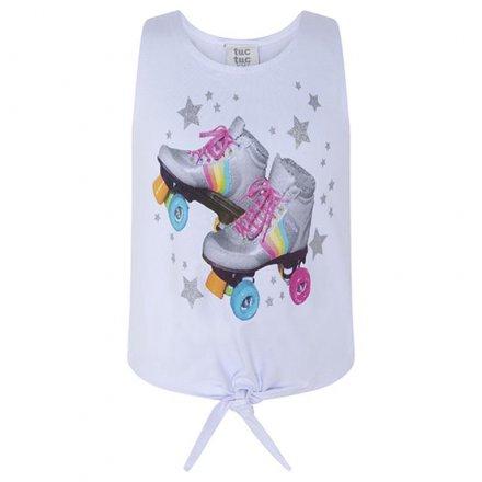 Dievčenské tričko bez rukávov