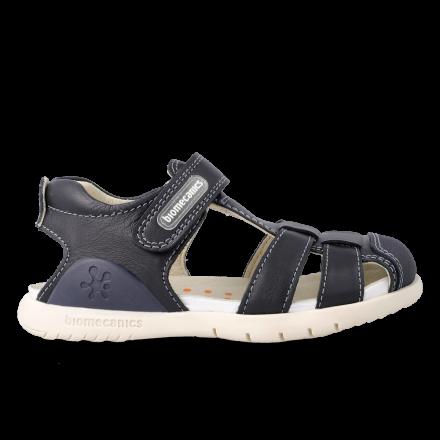 Chlapčenské kožené sandále