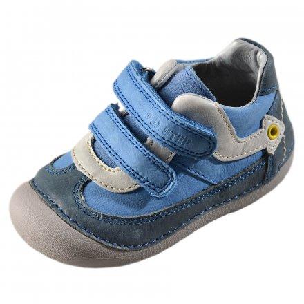 Chlapčenské prechodné  kožené topánky-Calypso sky